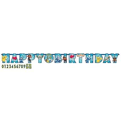 Amscan 121859 Pokemon Core Jumbo Letter Banner: Toys & Games [5Bkhe1206499]