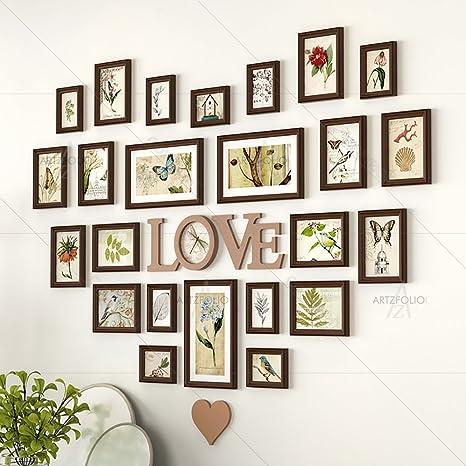 Buy Artzfolio Wall Photo Frame Dark Brown 4x6 9pc5x7 12pc6x8 3pc