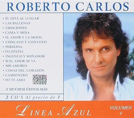 Roberto Carlos Roberto Carlos 2cds Linea Azul Volumen 4 Sony 651529 Music