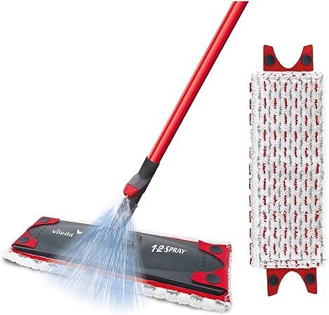 Vileda Microfibre Flat Spray Mop