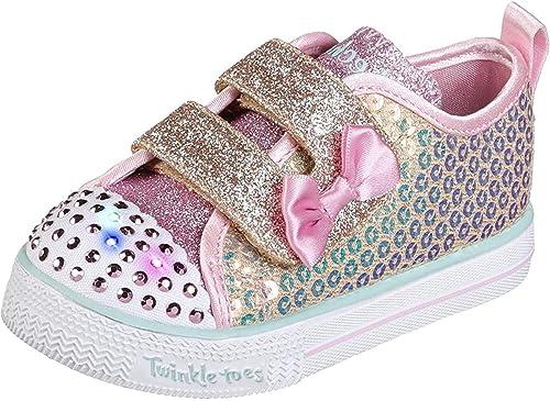 Skechers Baby-Girls Shuffle LITE-Mini