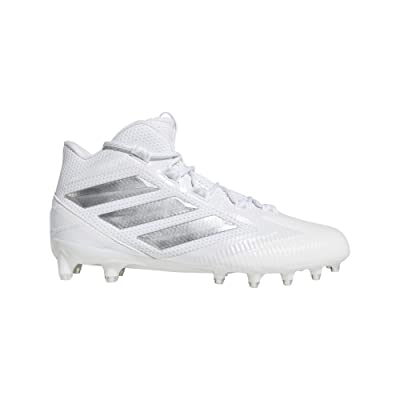 adidas Freak Carbon Mid White/Silver Football Shoes (EE7133): Sports & Outdoors