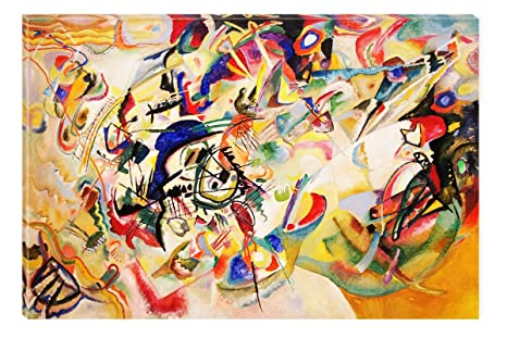 Amazon Com Startonight Wall Art Canvas Kandinski Abstract