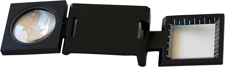 Binger BG501 7x Folding Magnifier Linen Tester All Metal No Plastic