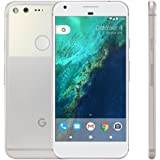 """PIXEL XL Phone by Google - 128GB - 5.5"""" inch - Android Nougat - Factory Unlocked 4G/LTE Smartphone (Very Silver) - International Version"""