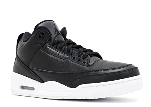 e69371f7f8f22c Nike Air Jordan Retro 3 Mens Black White 136064-020 (12)  Buy Online ...