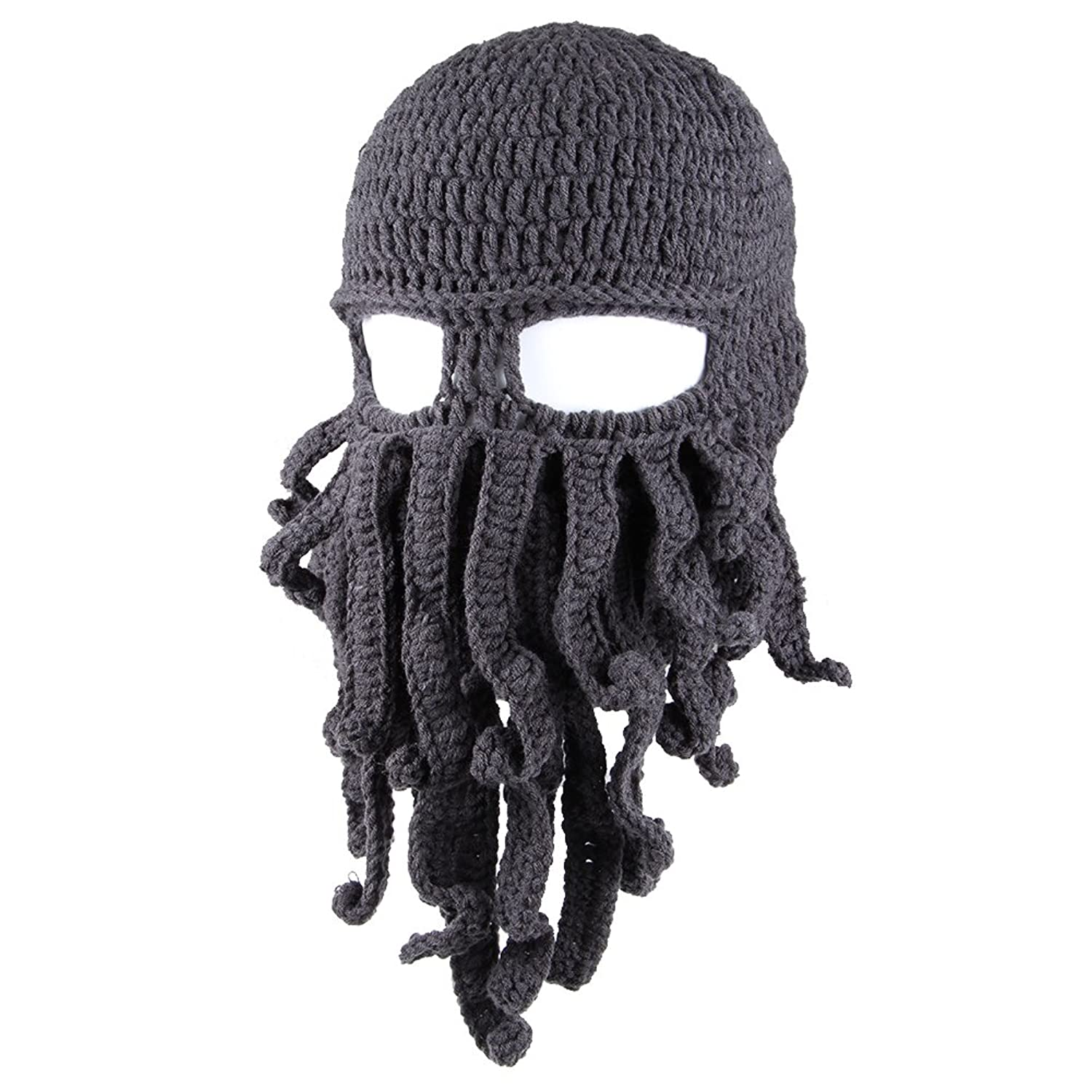 Barbarian Octopus Knit Beanie.