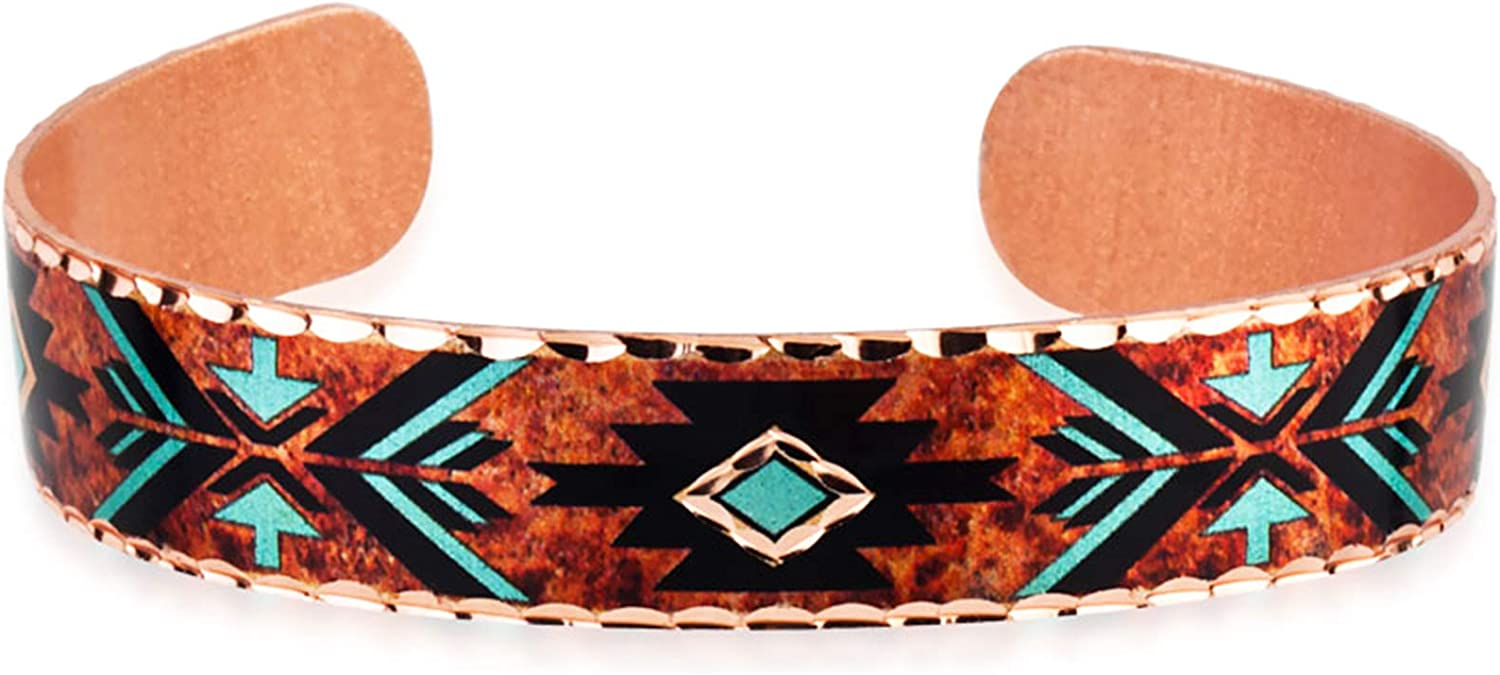 Turquoise and Red Double Arrowhead Friendship Bracelet