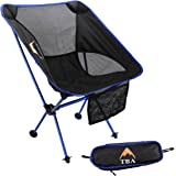 Lectica Camping Chair – Ultralight Strength With Oxford Weave – Folding and Compact – Take Comfort With You Anywhere – Perfect For Camp, Hiking, Backpacking
