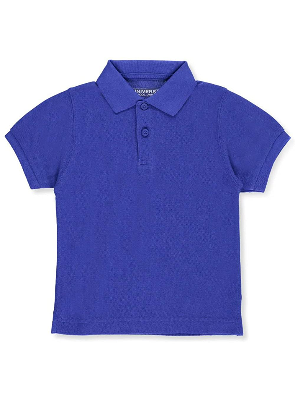 Unisex Boys Girls Short Sleeve Pique Polo Shirt w/Stain Release by Univ- Sku:Staniu838ROB2T; Color:ROYAL BLUE; Size:2T 2T Universal