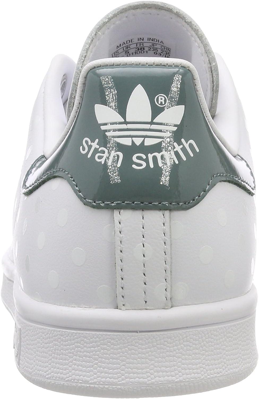 adidas Damen Stan Smith W Sneaker Weiß Footwear White Footwear White Raw Green 0
