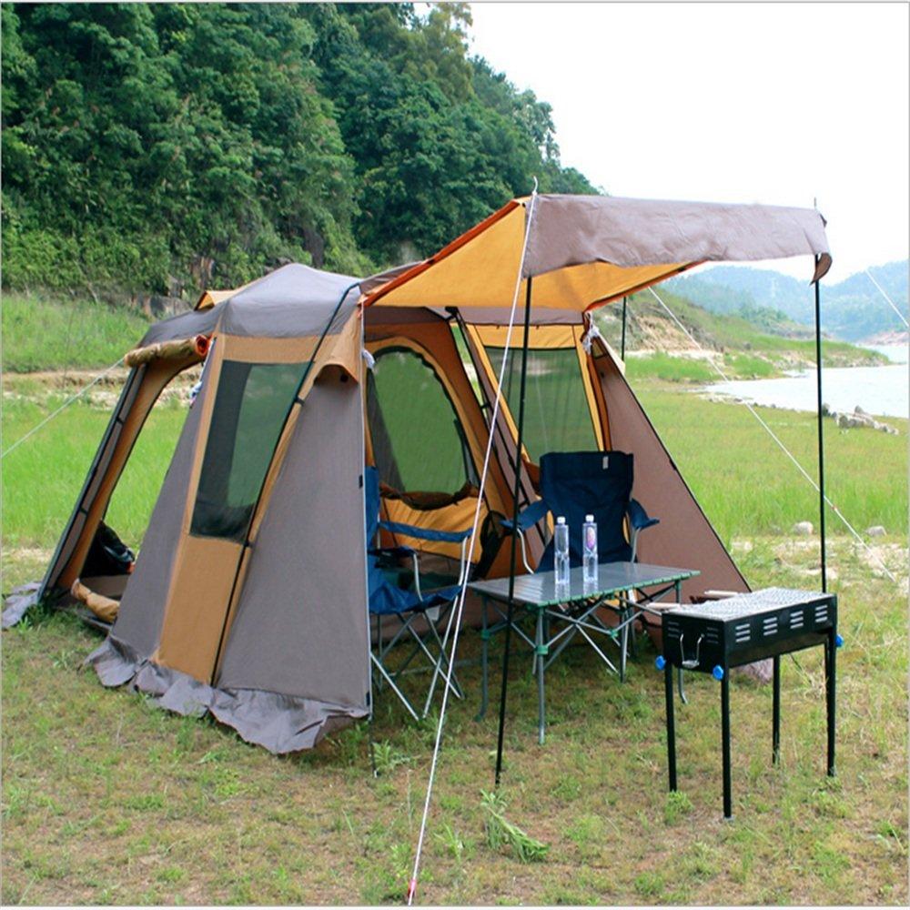 屋外または家族のキャンプ旅行に適したテレスコピックテント。   B07C1623R5