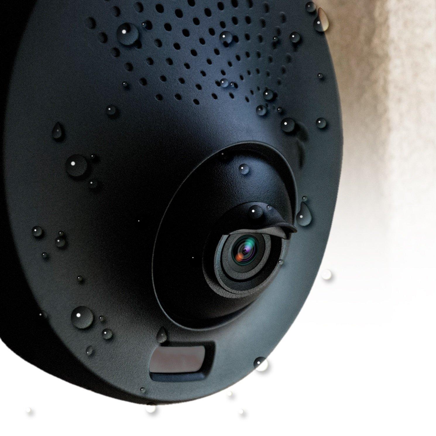 Camera Light Fixture: Weatherproof Outdoor Security Camera, Toucan Powered By