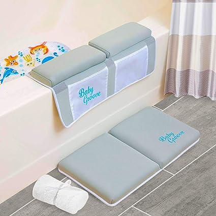 Amazon.com: Baby Groove Premium - Rodillera de baño y codera ...