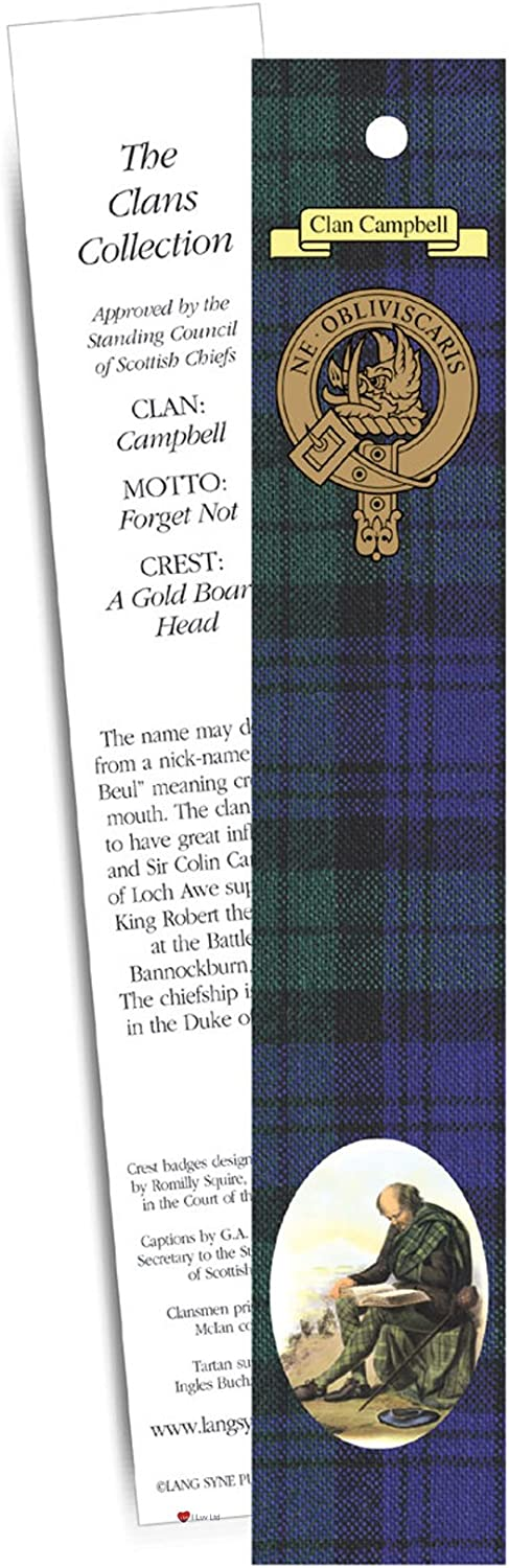Campbell Clan Bookmark