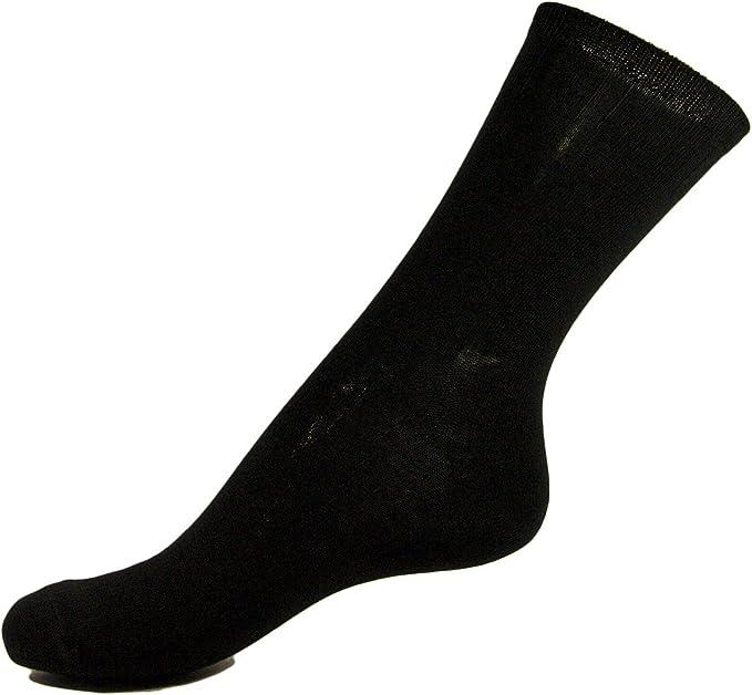 Pack 3 Calcetines algodón - elastano Mujer - Talla única, Negro: Amazon.es: Ropa y accesorios