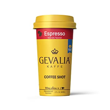 Ready To Drink Bottled Gevalia Coffee Shots