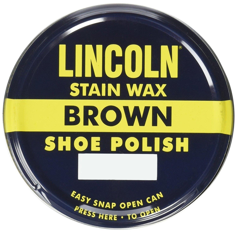 Lustrador de calzado Lincoln Stain Wax 3 Fl Oz (Selec (6LC0)