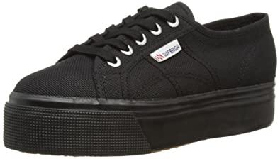 Superga 2790 Acotw Linea Up and Down, Sneakers Basses Femme, (996 Full Black), 35