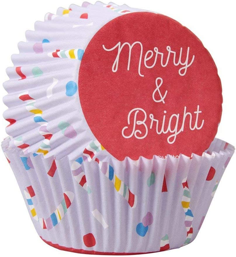 Non-Food Items 415-0-0117 Standard Baking Cups BRGH, Merry and Bright