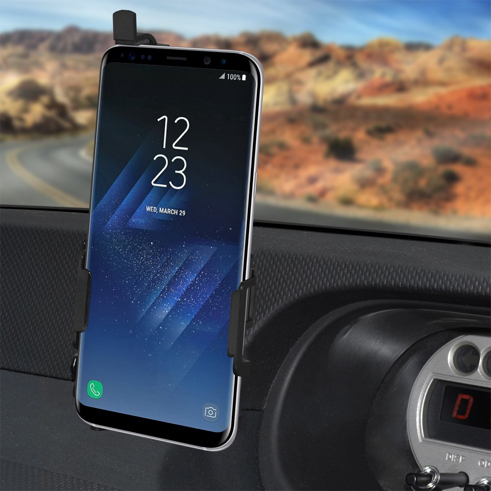 Anywhere Magnetic AMZER Vehicle Car Home Gym Office Mount Holder Stand for Samsung Galaxy S8