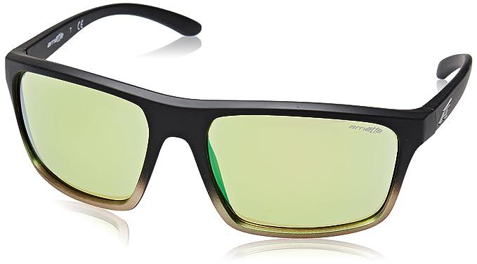 Arnette Sandbank, Gafas de Sol para Hombre, Black Grad Shot Green, 61: Amazon.es: Ropa y accesorios