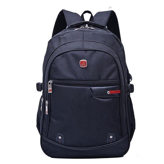 Luckywe Mochila de viaje Ordenador portátil de calidad Nylon para uso como equipaje de mano: Amazon.es: Ropa y accesorios