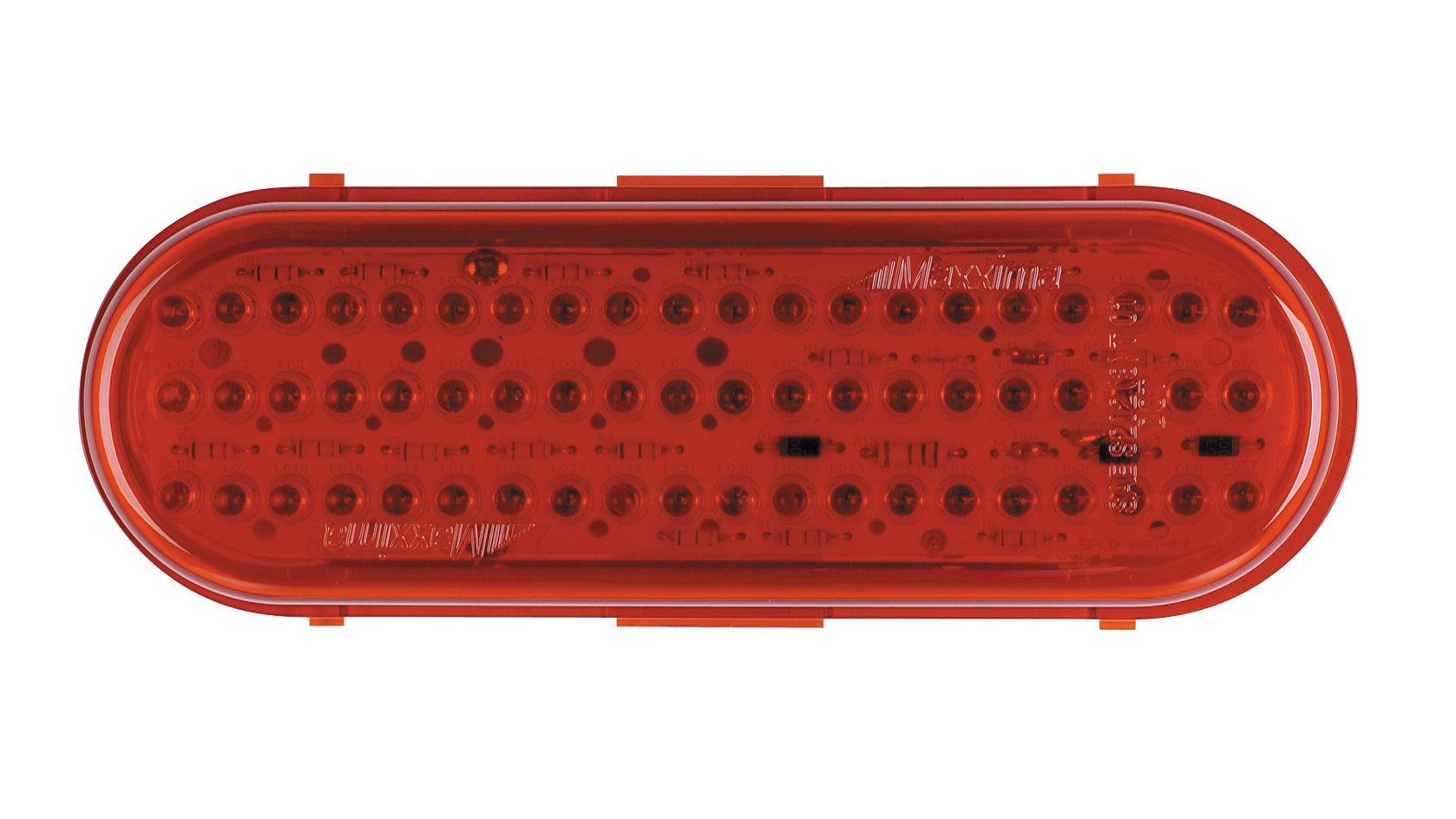 Maxxima M63100R 60 LED Red 6'' Oval Stop/Tail/Turn Light