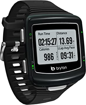Bryton Cardio 60R Reloj GPS Multideporte (Negro/Plata)+ Pack ...