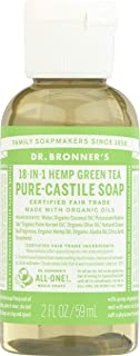 product image for Dr Bronners, Soap Liquid Castile Green Tea Organic, 2 Ounce