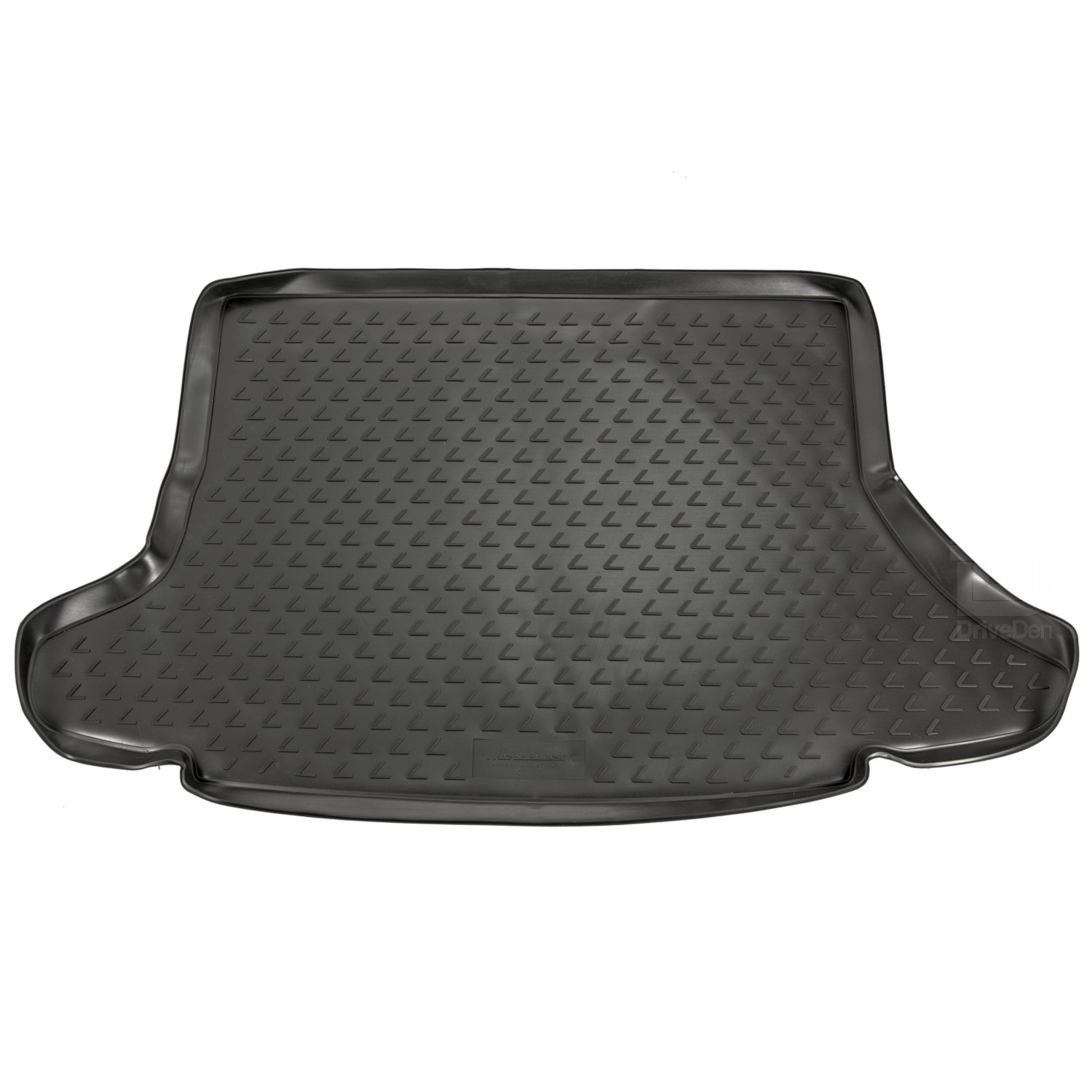 Novline MAT156 Custom Tailored Fit Black Rubber Boot Liner Mat Without Subwoofer in Boot