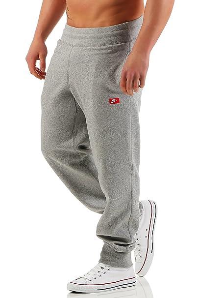 df4286a6f2542 Nike - Pantalón deportivo - para hombre gris 46  Amazon.es  Ropa y  accesorios