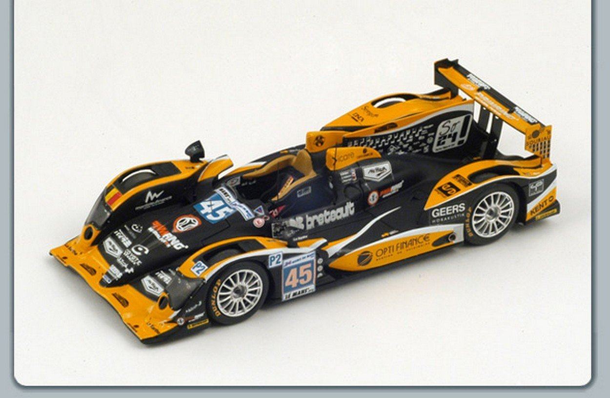 NEWES Spark Model S3724 ORECA 03-Nissan N.45 24th LM 2012 Briere-Nakano-Petersen 1:43