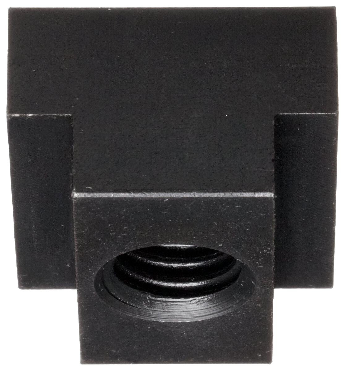 Black Oxide Finish Grade 8 19mm Height Slot Depth Made in US Steel T-Slot Nut Left Hand Threads Class 6H M12 Threads