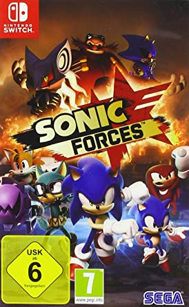 Sonic Forces - Nintendo Switch [Importación alemana]: Amazon.es ...
