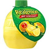 Realemon 100% Lemon Juice, 2.5 oz - PACK OF 3