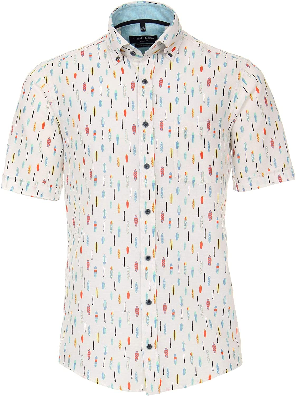 Casa Moda 903420200 - Camisa casual de manga corta para ...