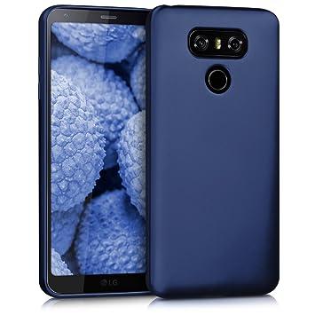 kwmobile 41902.64 Funda para teléfono móvil Azul - Fundas para teléfonos móviles (Funda, LG, G6, Azul)