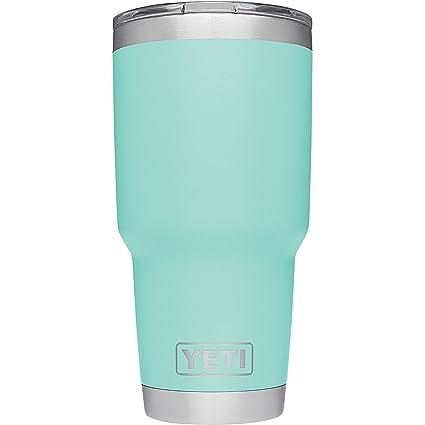 Amazon.com: YETI Rambler - Vaso de acero inoxidable con ...