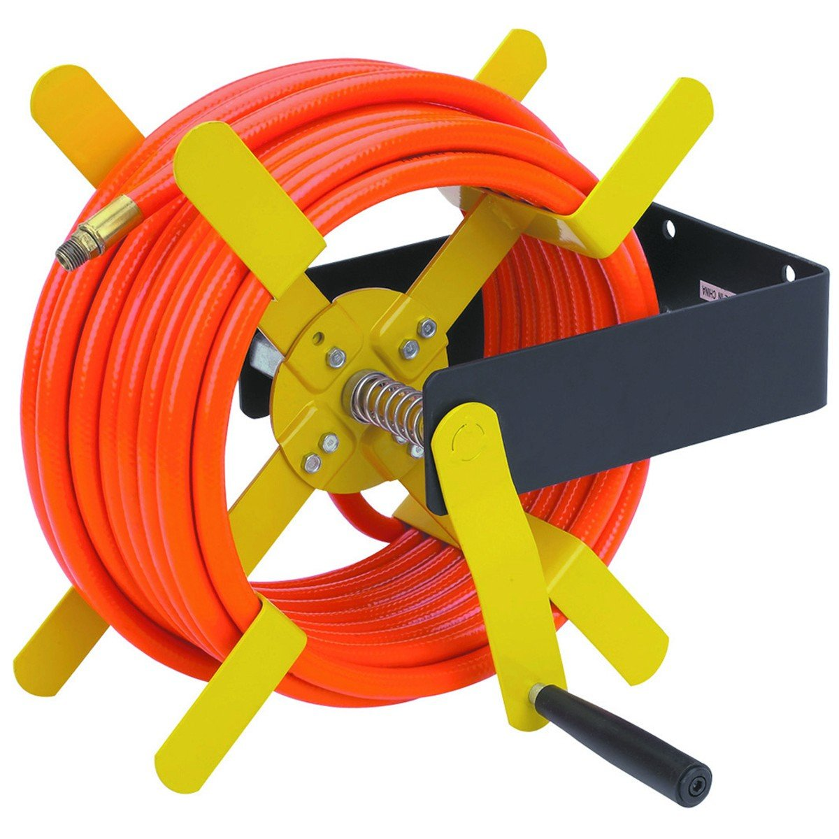 100 Ft Open Side Steel Air Hose Reel By Harbor Freight Tools
