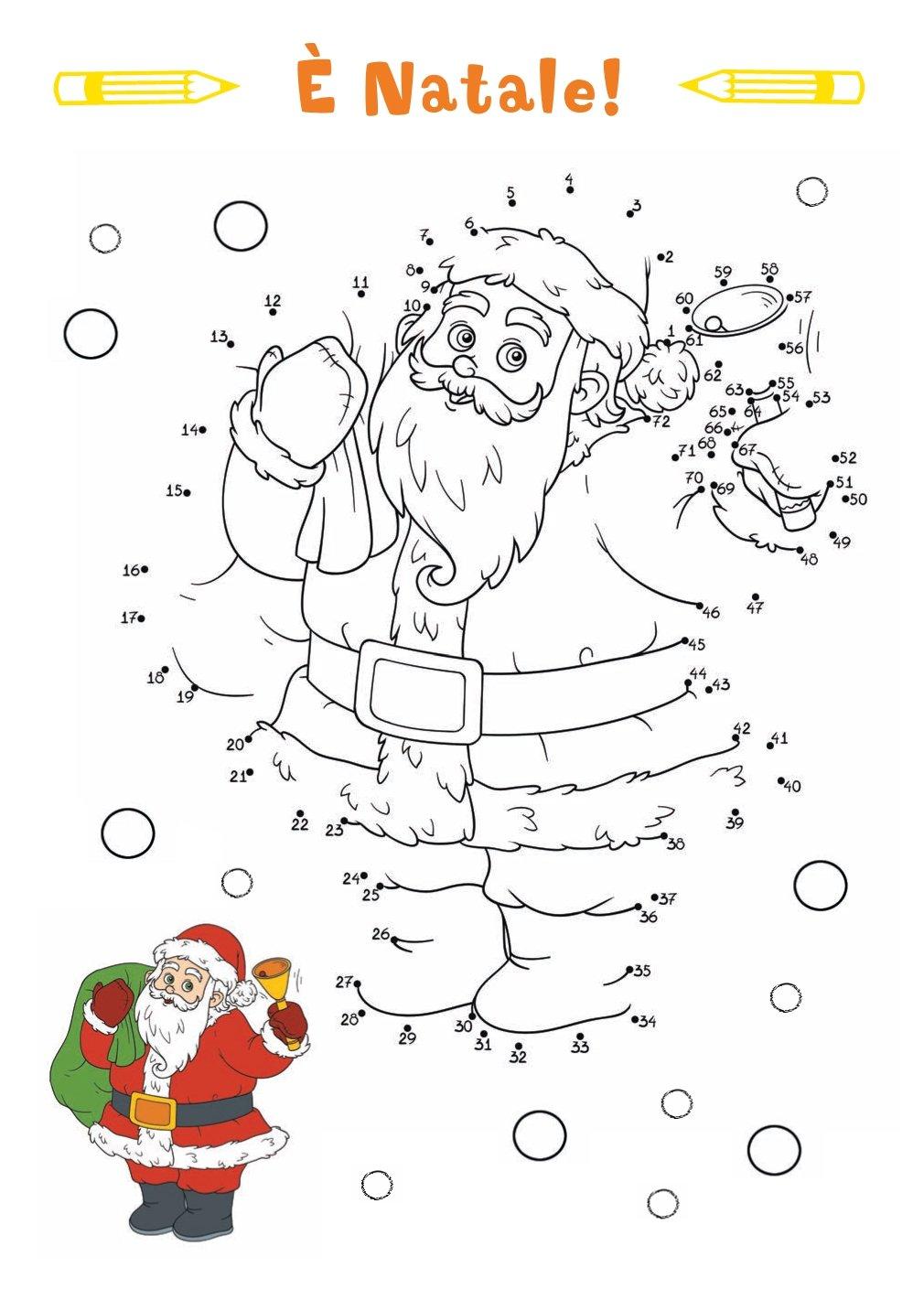 Disegni Di Natale Da Unire Con I Puntini.Amazon It Unisci I Puntini Autori Vari Libri