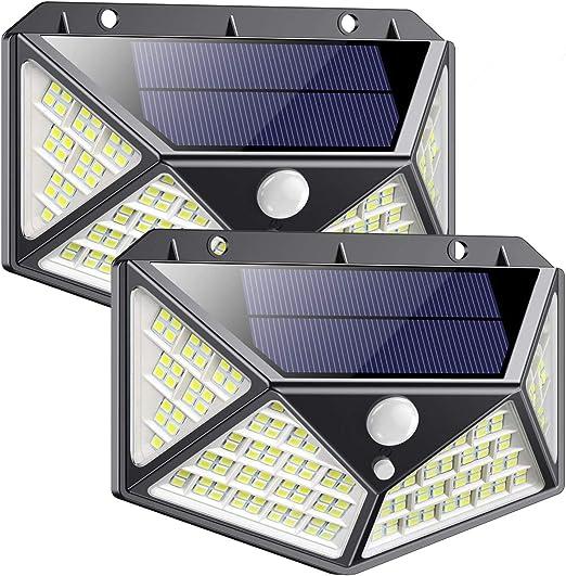 Paquete De 12 Luces Solares Impermeables Para... Luces Solares Para Exteriores