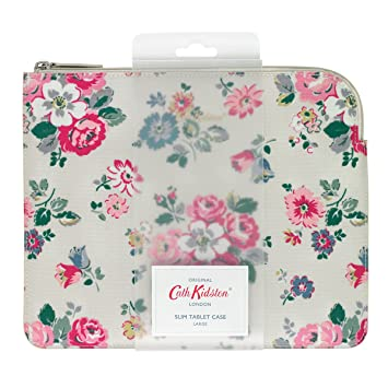 new concept 3bf11 fe8d3 Cath Kidston slim tablet case large oilcloth forest: Amazon.co.uk ...