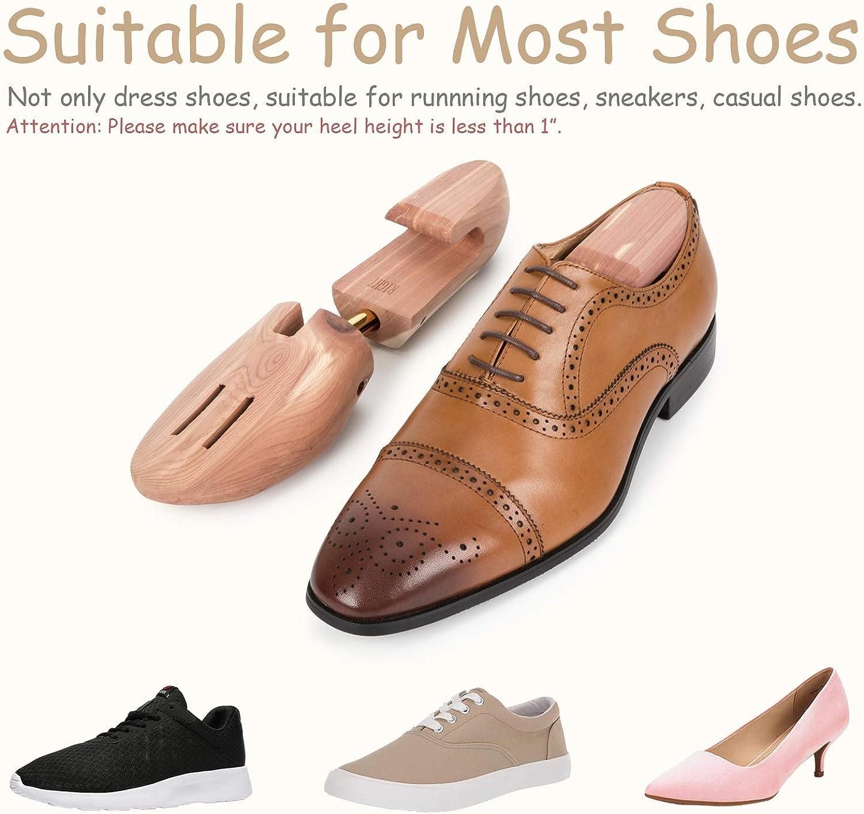 Men Adjustable Shoe Tree Cedar Wood