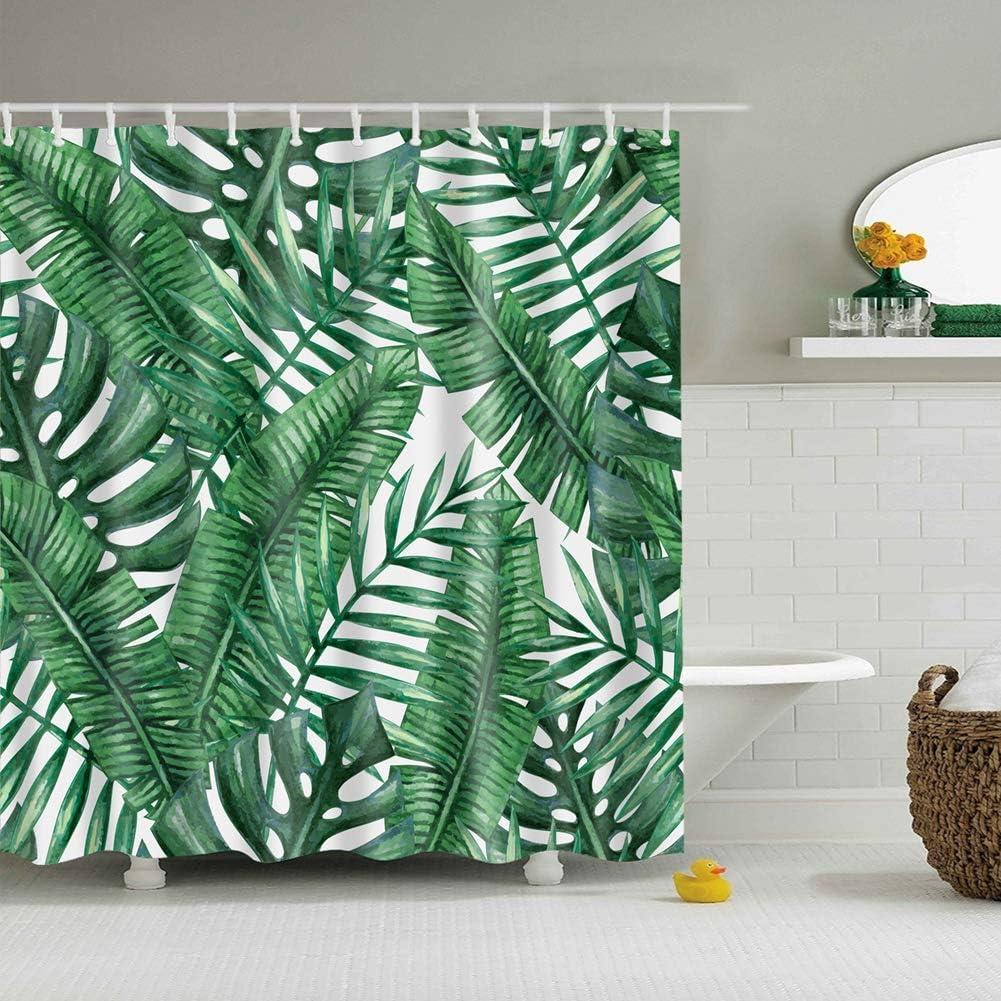 ZHWL6688 Fondo Blanco Planta Verde Hoja de Cannabis Accesorios de baño Accesorios de baño
