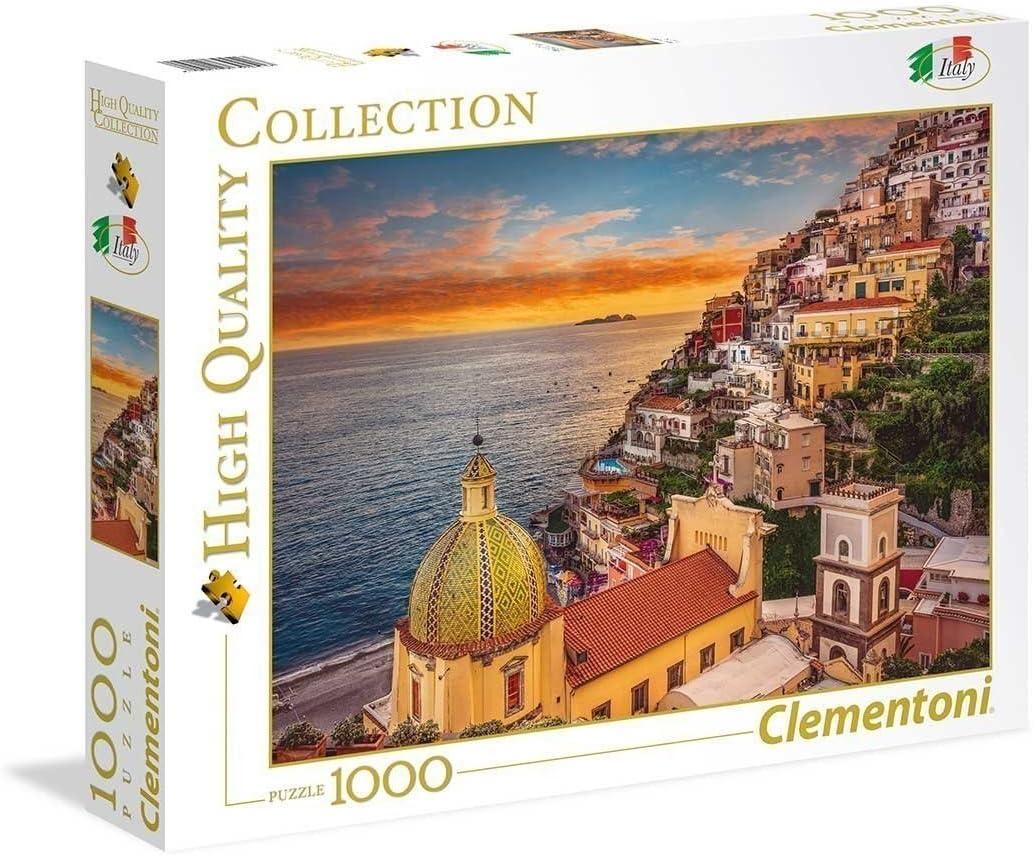 Clementoni Collection-Positano Puzzle, 1000 Piezas, Multicolor (39451.7)