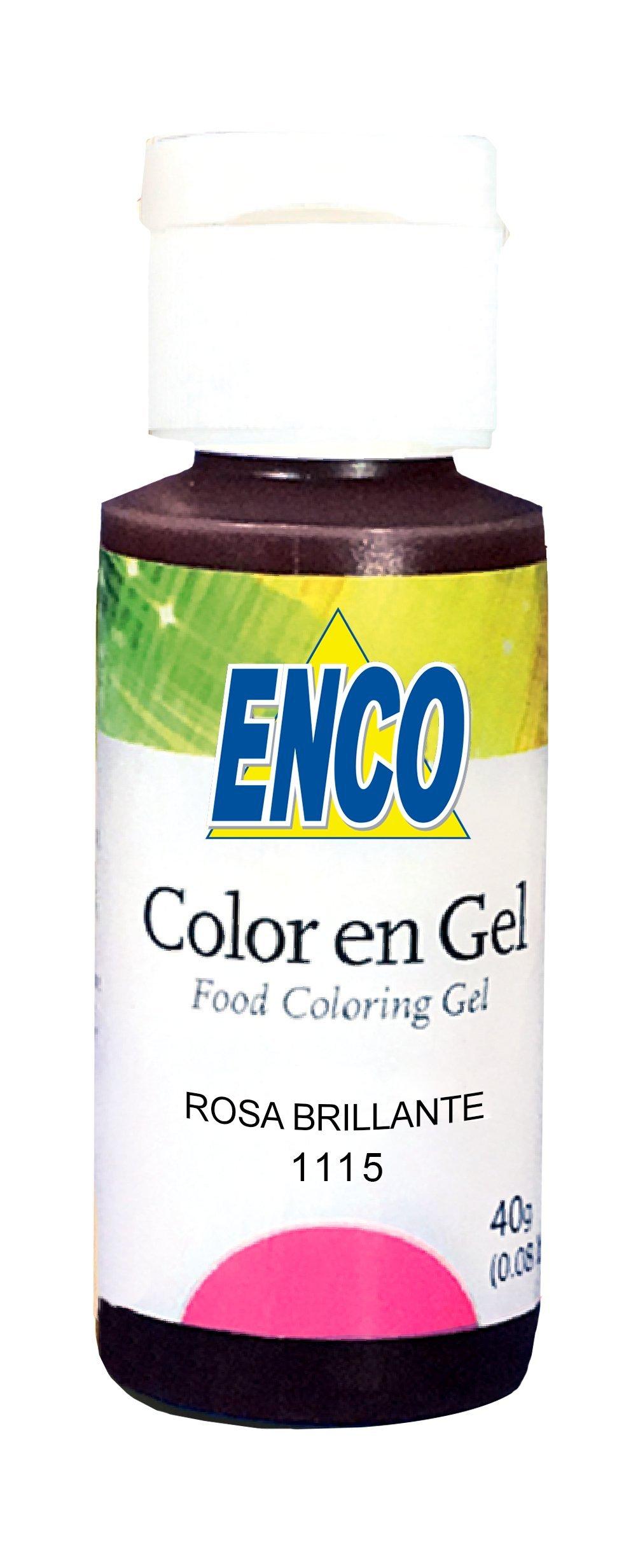 GEL FOOD COLOR ENCO (BRIGHT PINK)