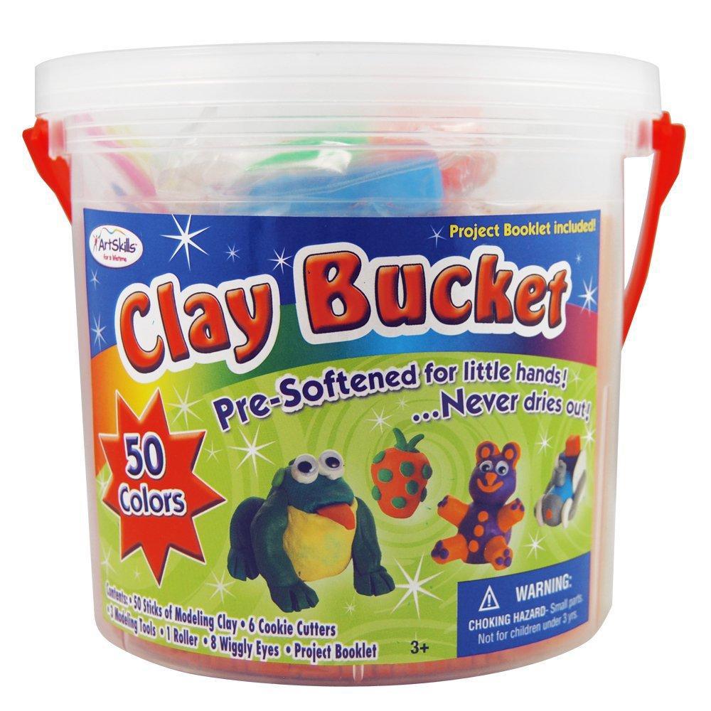 ArtSkills Clay Bucket, 100-Count (AMYS-131)