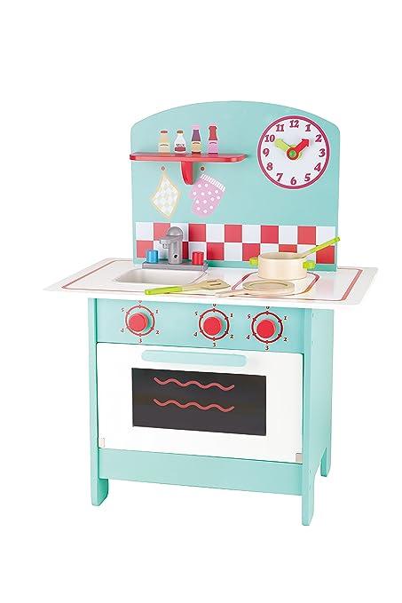Hape HAP-E8069 Aqua Retro Küche Spielset