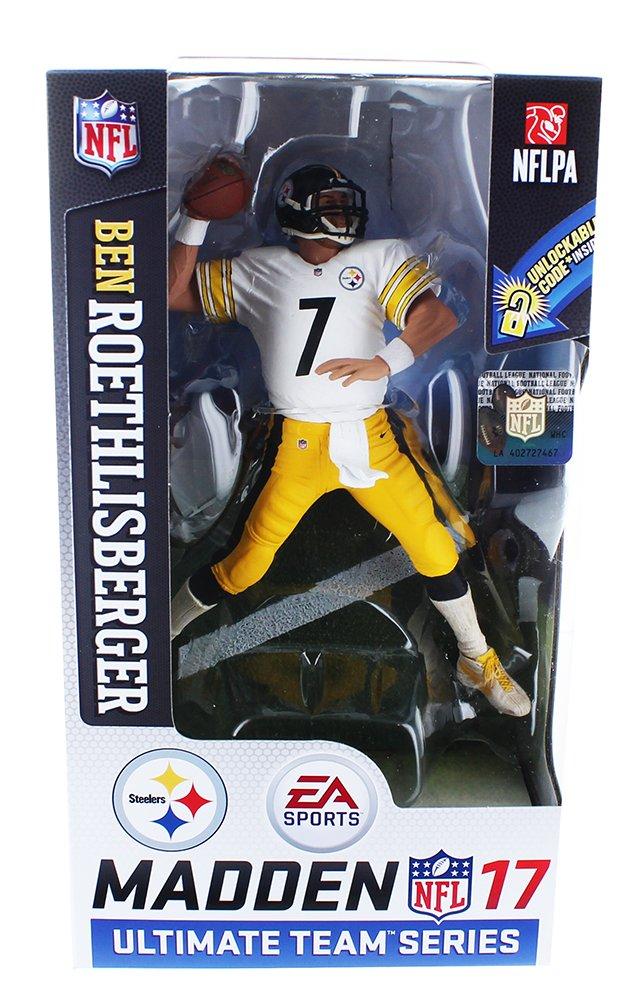 McFarlane NFL Madden 17 Series 2 BEN ROETHLISBERGER #7 - PITTSBURGH STEELERS Figur Mcfarlane Toys